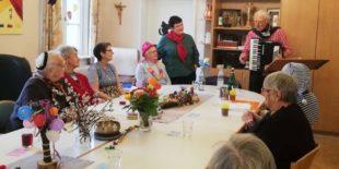 Tagespflege St. Raphael feierte gemeinsam den Schmalzigen Friddig
