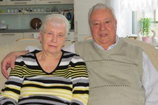 Helga und Wolfgang Henschel feierten das Fest der diamantenen Hochzeit