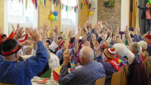 Senioren waren närrisch und fit