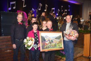 Roland Weygold wurde zum Ehren-Dirigent der Trachtenkapelle ernannt