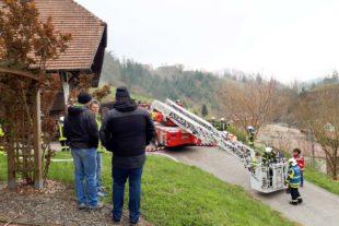 Brandbekämpfung bei beengten Platzverhältnissen in der »Kolonie«