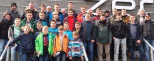 Jugend des SVO bei der Bundesligapartie Hoffenheim gegen Berlin