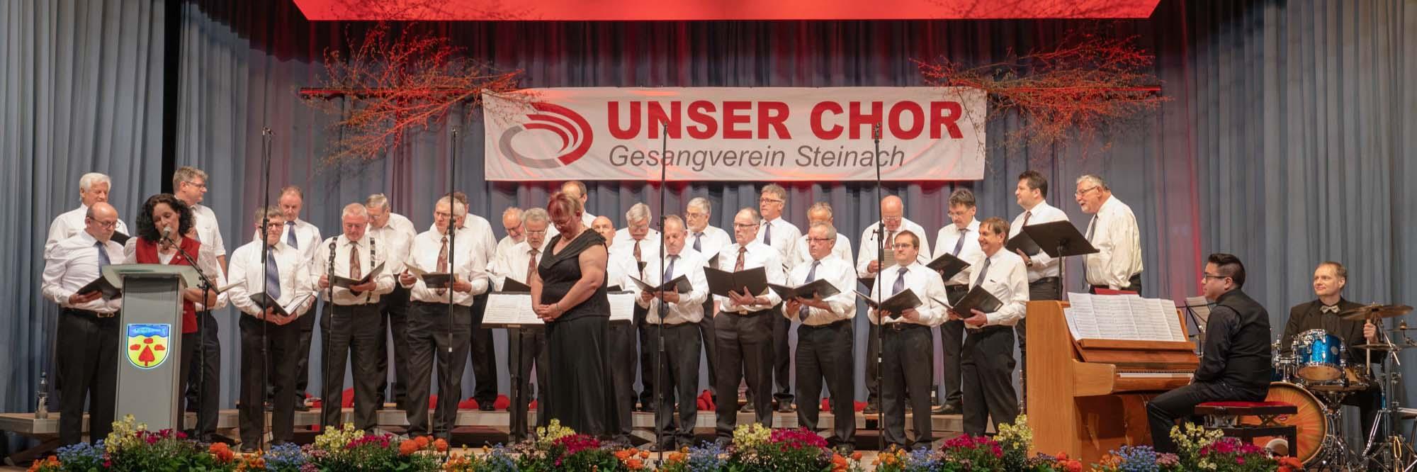 2019-4-18-ST-Steinach-Gerhard Große-Chorkonzert mit MGV Biberach 2 GV Steinach - Männerchor