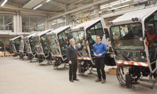 Elf Kommunalfahrzeuge für die Stadt Köln