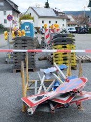 Umleitung über Oberstadt-Parkplatz