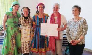 Missionskreis übergibt 1.000-Euro-Spende an den Kifafa e.V.