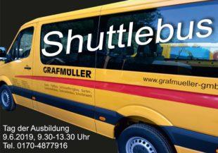 Mit dem Shuttlebus zu Grafmüller