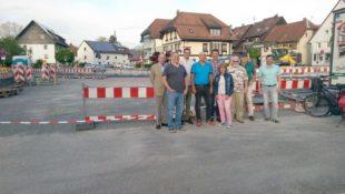 »SPD vor Ort« hat bei Rundgang Oberstadt-Entwicklung im Blick