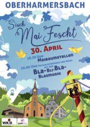 Oberharmersbach: Maibaumstellen