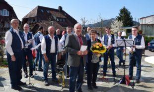 Musikalisches Urgestein der Zeller Stadtkapelle feierte 85. Geburtstag