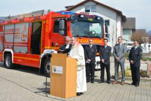 Fahrzeug HLF 20 verstärkt die Zeller Feuerwehr