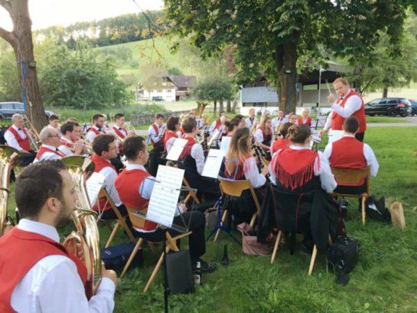 Musikverein Unterharmersbach: Hock am Fürstenberger Hof