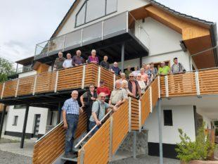 Senioren wandern in Fischerbach