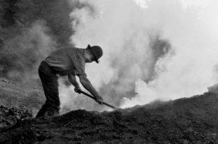 Auf den gesamten waldreichen Hochflächen Nordrachs brannten einst Kohlemeiler