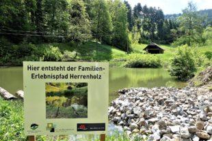 Neuer Familien-Erlebnispfad zum Herrenholz in der Planung