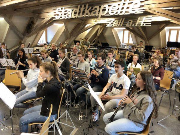 Jungmusiker ZEH: Frühsommerkonzert