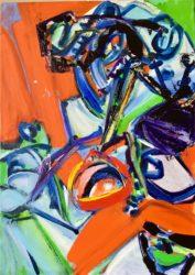 Galerie ARTHUS: Abstraktionen in Öl, Stein und Glas