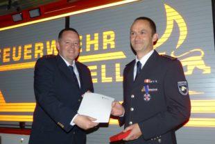 Deutsches Feuerwehr-Ehrenkreuz  in Silber für Florian Lehmann