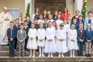 Erstkommunionkinder von Biberach und Prinzbach erlebten einen feierlichen Festtag