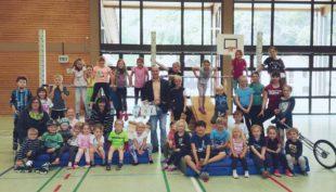 Turnkinder überraschen DJK-Vorstand