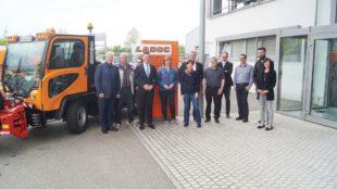 CDU-Generalsekretär Manuel Hagel besucht Mittelständler in Zell