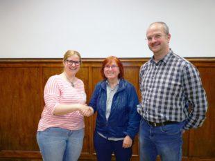 Annette Tafler gibt ab Juni den Takt bei der Trachtenkapelle vor