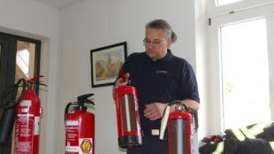 Feuerlöscher können Leben retten