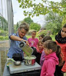Wildpflanzenküche für Kinder