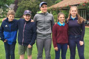 Golfjugend spielt um den Baden-Pokal
