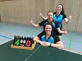 Tischtennis-Damen der DJK gewinnen den Südbadischen Pokal