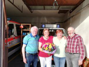 DRK gratulierte Margit Wohlgethan