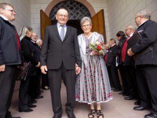 Eugen und Rosemarie Lehmann feierten goldenes Ehejubiläum
