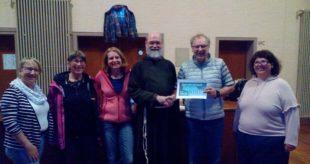 Kino-Kino-Initiative übergab Spende an das Kapuzinerkloster für die Halle
