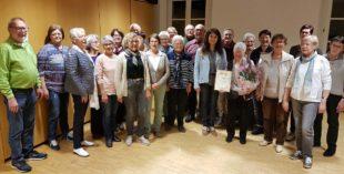 Gesangverein »Frohsinn« gratulierte Anna Lang zum 90. Geburtstag