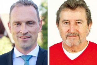 Bürgermeister Richard Weith und Martin Teufel erhalten Direktmandat für den Kreistag