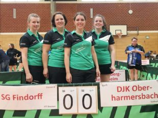 Tischtennis-Damen reisten zu Deutschen Pokalmeisterschaften
