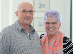 Karoline und Konrad Weiß feiern am Donnerstag ihr diamantenes Hochzeitsjubiläum
