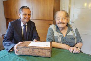 Franz Xaver Riehle feierte seinen 95. Geburtstag