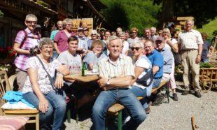 Entersbacher Wandergruppe besuchte das legendäre Ruhlsbach-Schöpfle