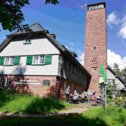 Einkehr an der Grenze zwischen Baden und Württemberg