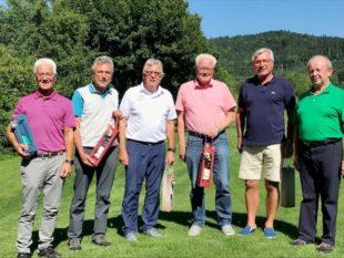 Ein Golfturnier zum Siebzigsten