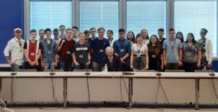 Geburtstagsständchen für Fabienne vom Bundestagspräsidenten Wolfgang Schäuble