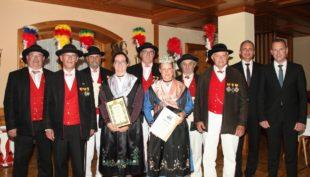 Über ein halbes Jahrhundert im Dienste der Oberharmersbacher Bürgerwehr gewürdigt
