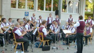 Musikverein Unterentersbach: Hock am Dorfgemeinschaftshaus