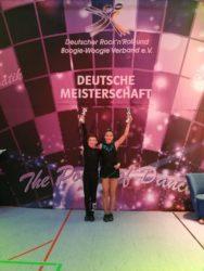 Erfolgreiche Schüler bei Deutscher Meisterschaft im Rock'n'Roll