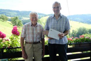 Jakob Baumann alles Gute zum 85. Geburtstag