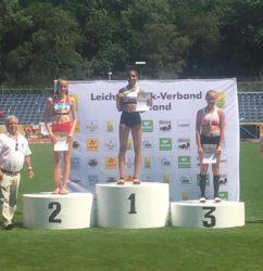 W15-Leichtathletin des TVU in Koblenz erfolgreich: