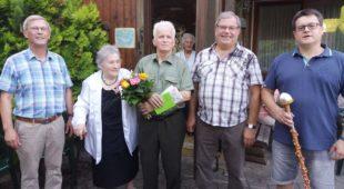 Glückwünsche zum 85.Geburtstag von »Bergkarli« Ludwig Roth