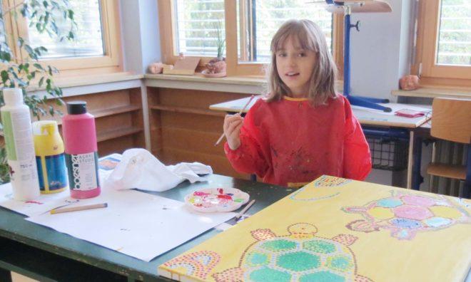 SBBZ Lernen in Zell: Vernissage