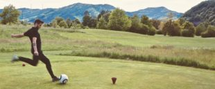 Golfclub Gröbernhof: Zeller Stadtmeisterschaft im Fußball Golf